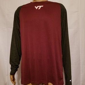 Virginia Tech Hokies VaTech VT L/S NWT Shirt